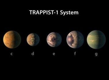 Descoberta de sete exoplanetas revoluciona busca por vida alienígena  O sistema Trappist-1, a somente 39 anos-luz de distância, passa a ser a melhor aposta para encontrar vida fora do Sistema Solar     Leia mais: http://ufo.com.br/noticias/descoberta-de-sete-exoplanetas-revoluciona-busca-por-vida-alienigena    CRÉDITO: ESO    #Exoplanetas #Trappist1 #NASA #ESO #RevistaUFO #UFO