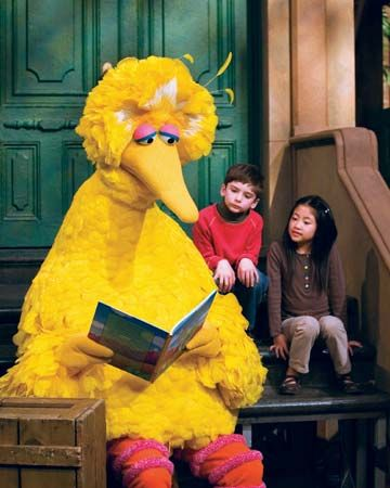 I love Sesame Street!  These characters are great to help young kids learn to read!