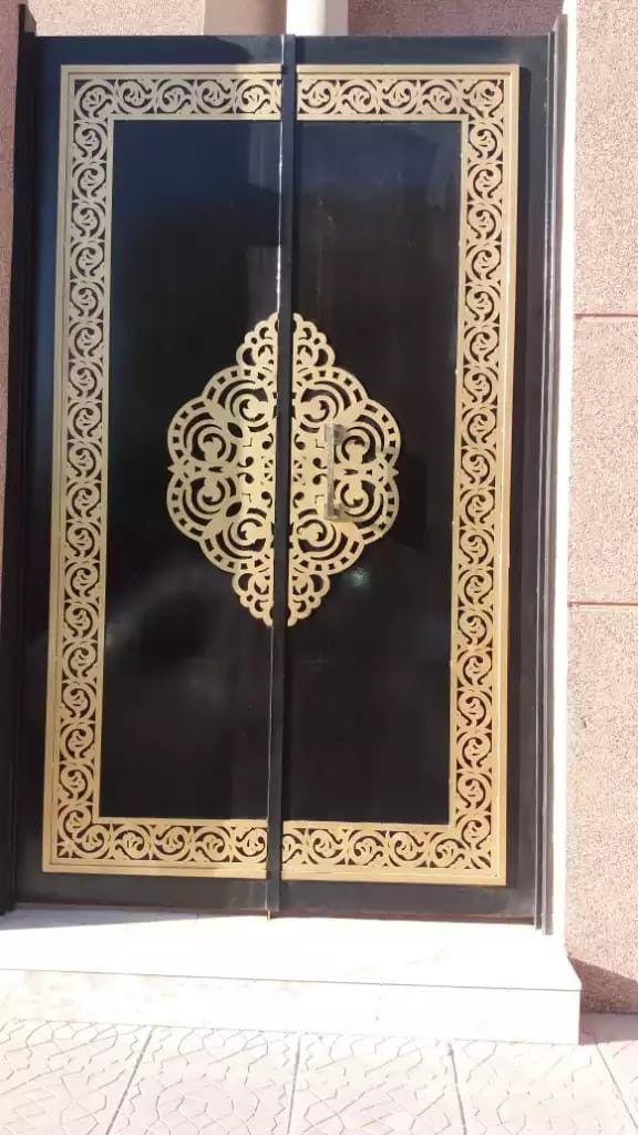 Laserdoors Metaldoors Lasercut Riyadhdoors Caddesign Arabiandoors Gate Gatedesign Door Doors Laser Nicedoors Cnc Saud Iron Door Design Gate Design Metal Gates