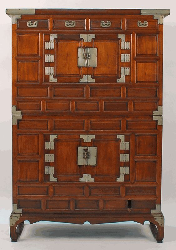 Antique Asian Furniture: Tansu Cabinet from Korea