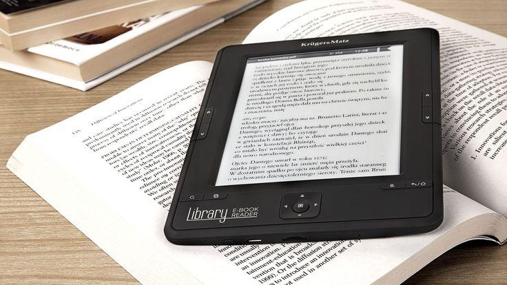 """#Czytnik e-booków #Library wyposażono w 6"""" ekran wykonany w technologii E-ink, który doskonale imituje wygląd papieru, zapewniając komfort dla oczu... #ebook"""