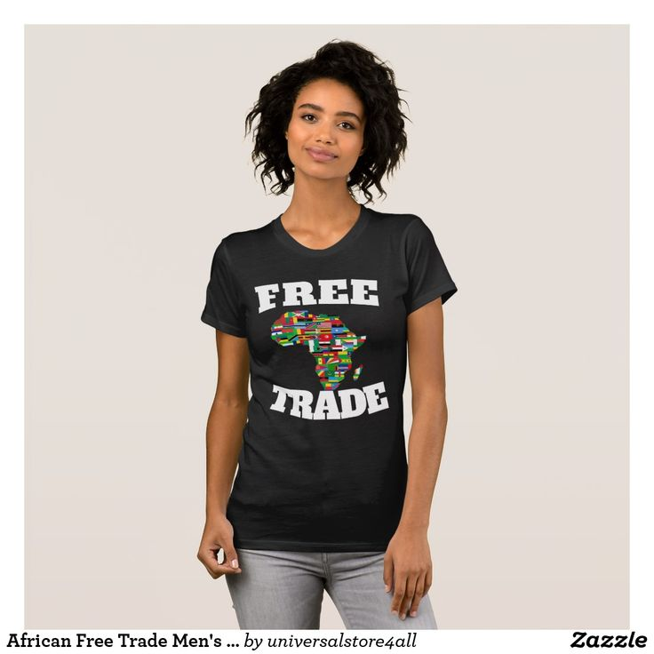 African Free Trade Men's  American Apparel T-shirt