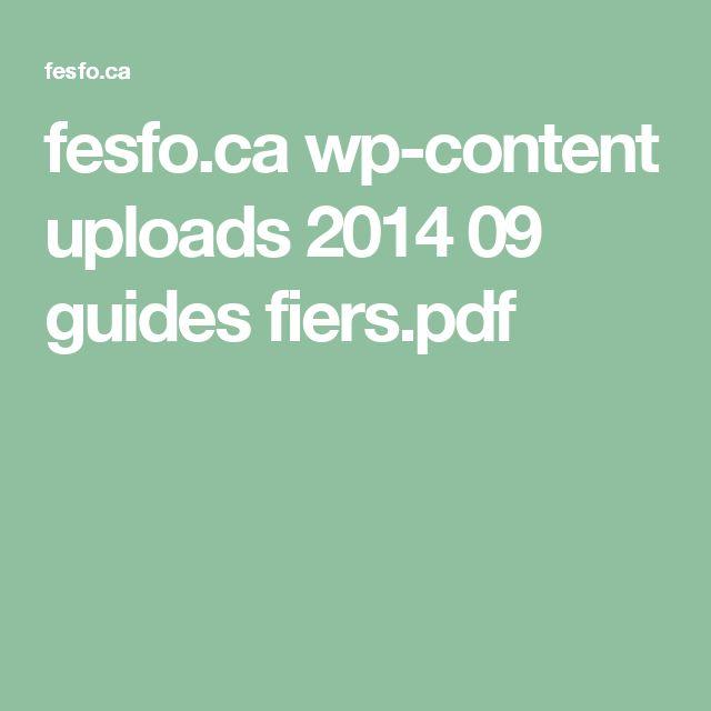 fesfo.ca wp-content uploads 2014 09 guides fiers.pdf