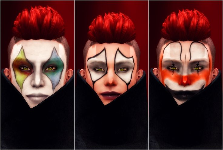 Fallen Gods has released these very cool clown make-up* tattoo layers for the current round of We <3 Role-Play and they are available in ten different styles. We Love Role-Play Slurl Hair: Tableau Vivant Defiler Hair Coat: David Heather Funnel Coat (black) *Promotional copies