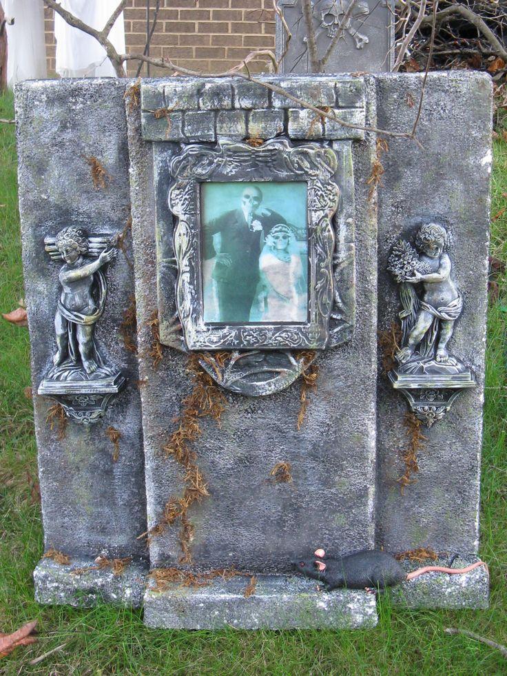 914 best halloween graveyard ideas images on pinterest. Black Bedroom Furniture Sets. Home Design Ideas