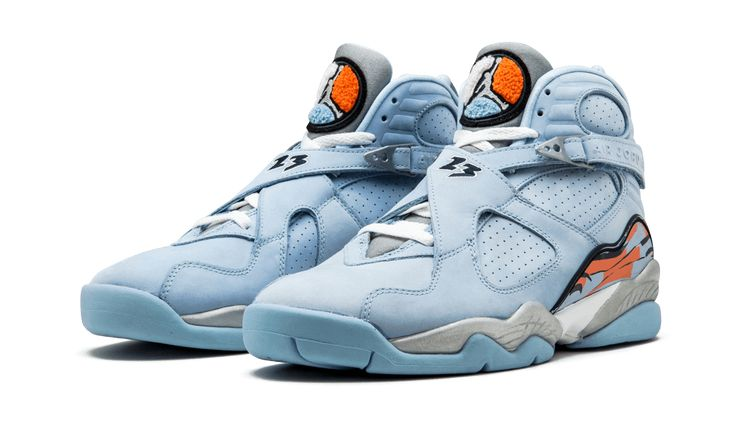 "Air Jordan (Retro) 8 ""Ice Blue"""