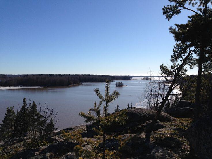 View from Tornikallio hill in Hamari.  www.visitporvoo.fi
