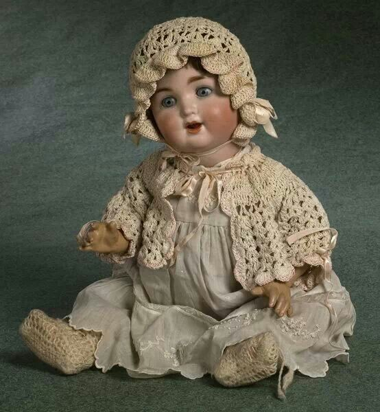 Antique doll marked 201 Germany  This is a S&Q (Schutzmeister & Quendt) doll - I have the same one and she looks very similar to this dolly. She's a beauty.