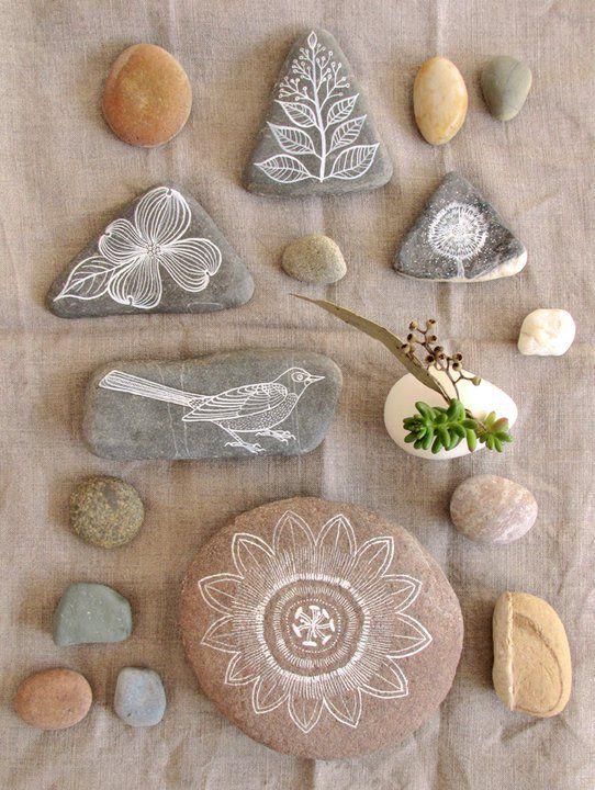 illustrations on stone