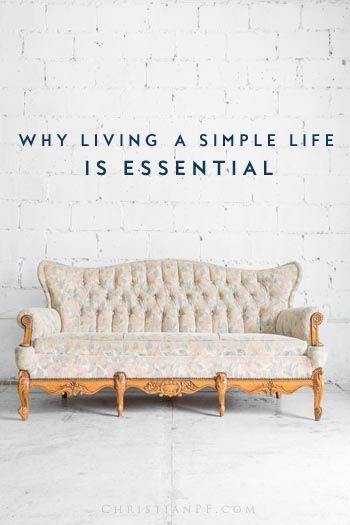 simple living is essential > minimalism