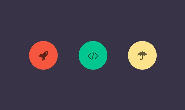 Three buttons layout HTML5 - CSS - jQuery