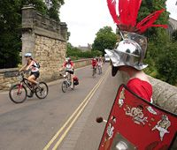 Hadrian's Cycleway opening ride