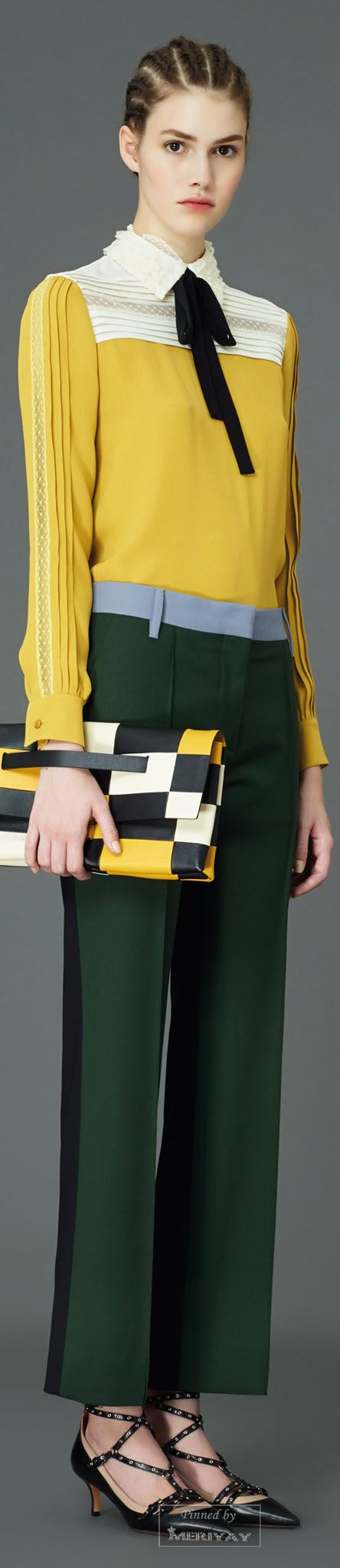 Valentino.Pre-Fall 2015. - hmmm...idk exactly what to think...but I'd rock it.
