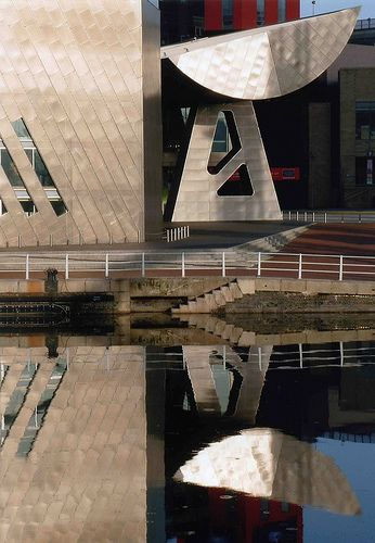 The LS Lowry Museum in Salford, Manchester.