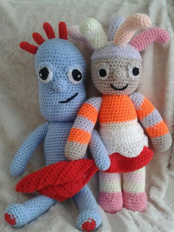 Knitting Pattern Iggle Piggle : iggle piggle lookalikes by bootneckbabies on Etsy, ?25.00 ...