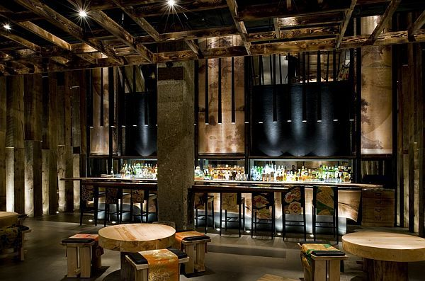 Sophisticated Ame Restaurant Design In Toronto Cool