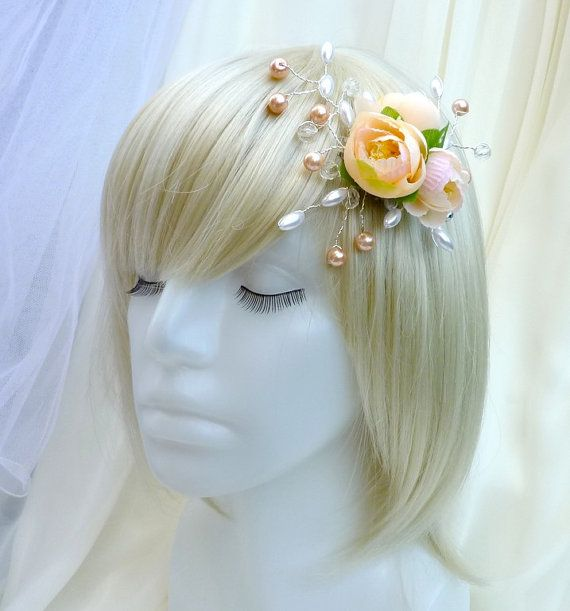 Wedding hair clip Janine by wandadesign on Etsy, €30.00