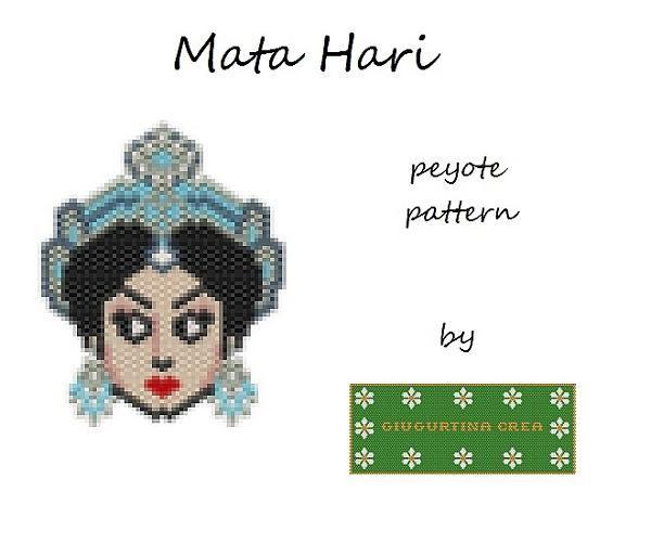 Mata Hari #matahari #peyotestitch #miyuki #delica