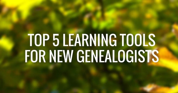 Top 5 Learning Tools for NEW Genealogists - http://www.geneosity.com/top-5-learning-tools-for-new-genealogists?utm_source=rss&utm_medium=sendible&utm_campaign=RSS