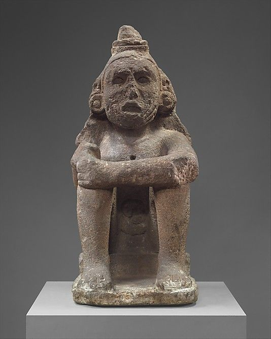 Seated Deity (Macuilxochitl) Mexica culture,15th-16th cent ...