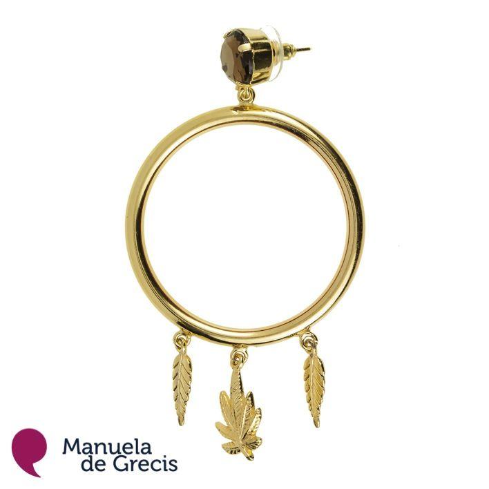 Orecchino _Astrid Colore _Oro  http://manueladegrecis.com/shop/orecchino-astrid-oro-p-12.php