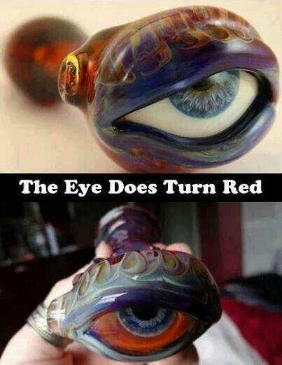 Eye marijuana pipe