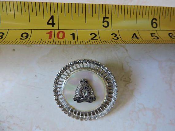 Sweetheart Brooch Pin Vintage R.C.M.P. Canadian Police Sweet