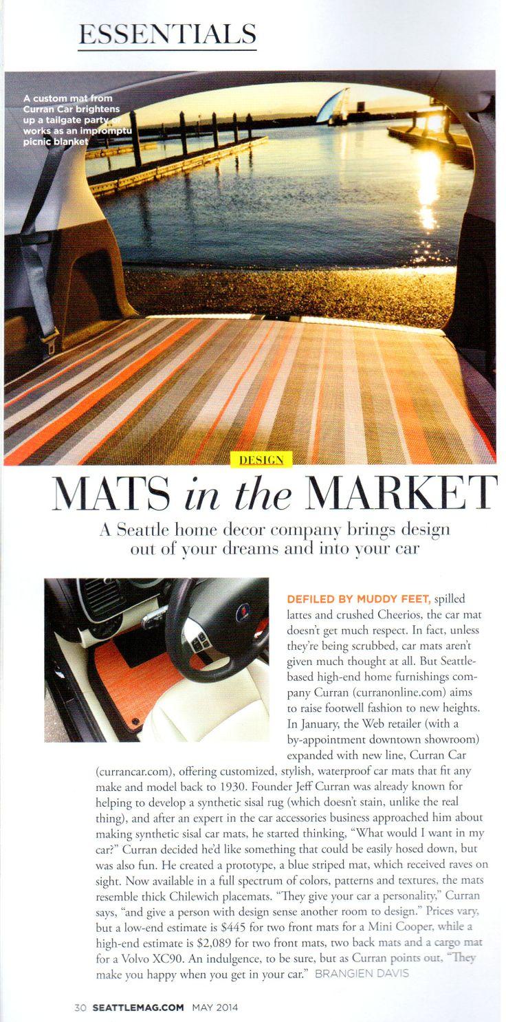 Mats in the Market Curran Car in Seattle Magazine httpwww
