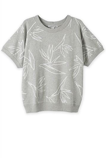 Print Sweat Top