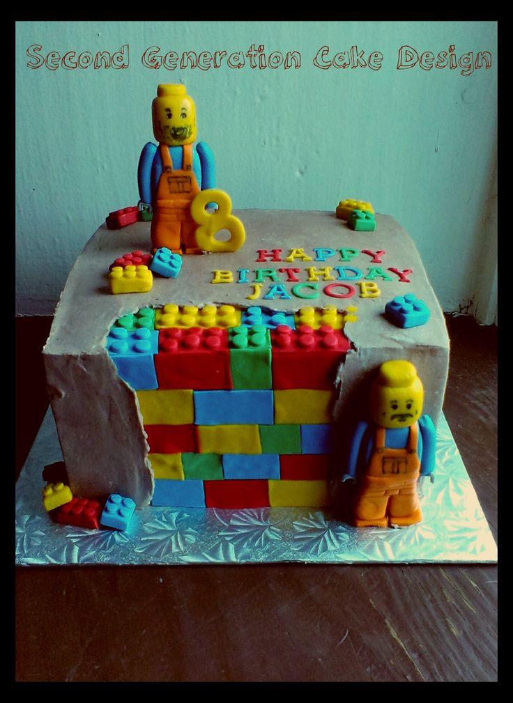Lego Birthday Cake Images