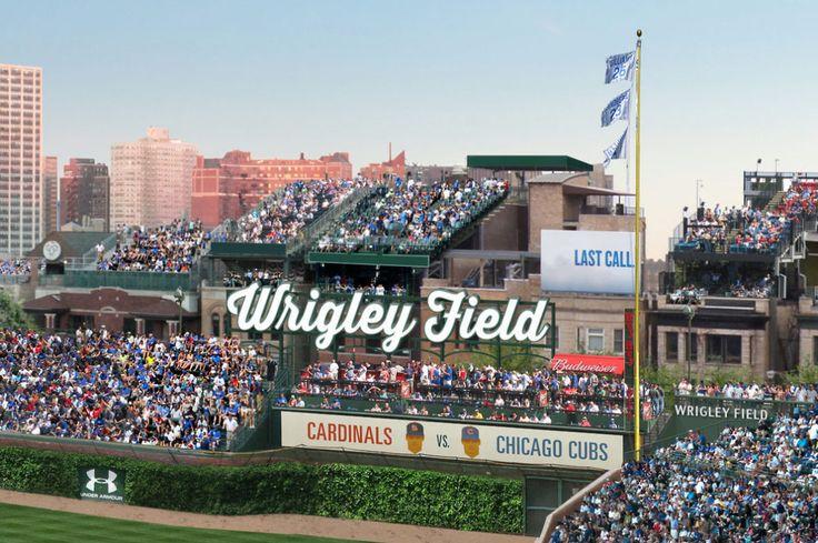 What a 'Modernized' Wrigley Field Might Look Like
