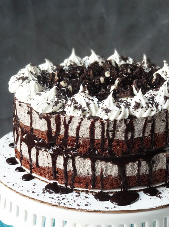 Oreo Cookies And Cream Ice Cream Cake Recipe Easy Ice Cream