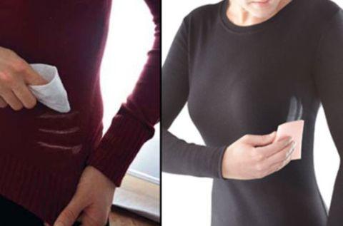 Use um par de meias-calças velhas ou amaciante em folhas para remover manchas de desodorante das suas camisas. | 23 truques brilhantes para cuidar de suas roupas que facilitarão sua vida