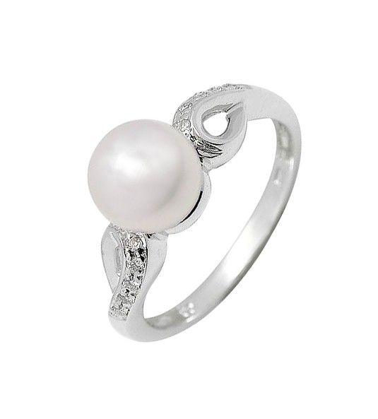 Anillo de compromiso de perla y diamantes, un precioso anillo en perla australiana y diamantes, perfecto para regalar a cualquier mujer que desee una joya de diseño y calidad.