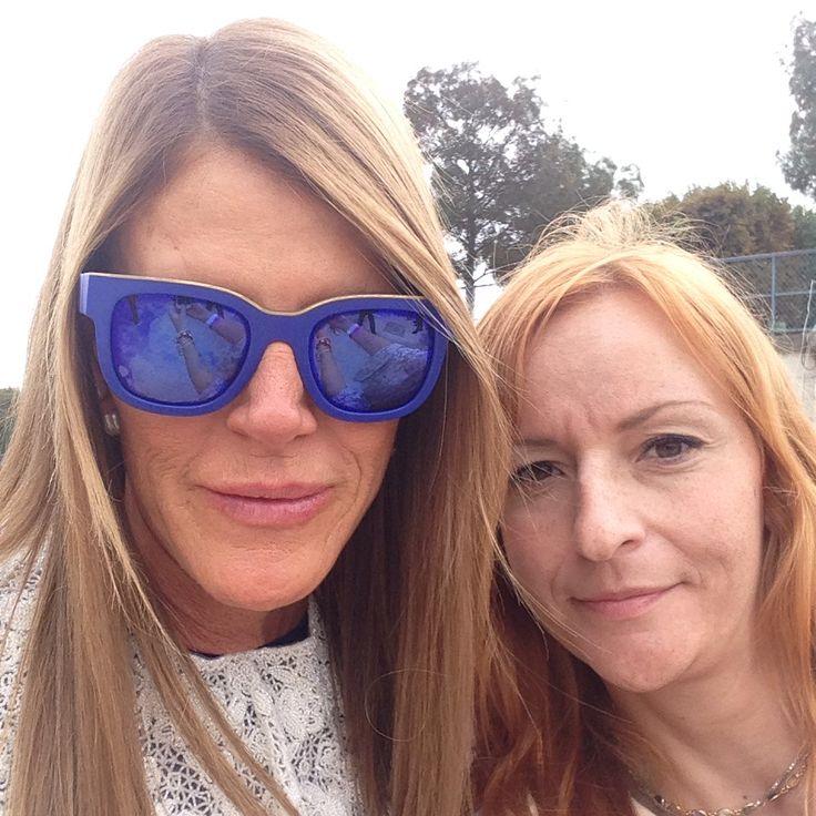 With Anna Dello Russo