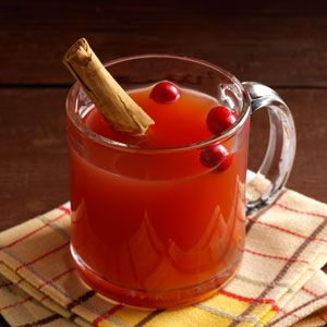 Slow-Cooked Apple Cranberry Cider