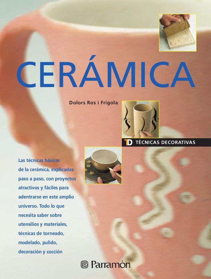 17 mejores im genes sobre libros ceramica en pinterest for Tecnicas para esmaltar ceramica