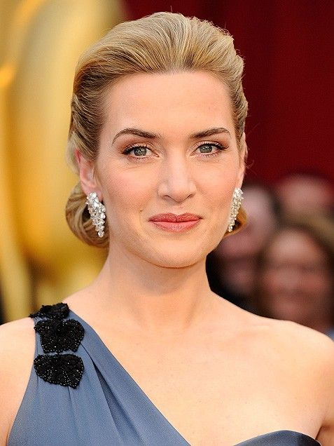 Kate Winslet's hair, updo, celeb hairstyles, Oscars hair, up-do, wedding hair, wedding hairstyles