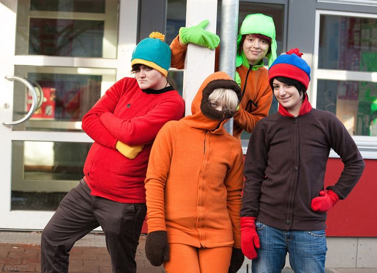 south park homies xd by misamon - Southpark Halloween Costumes