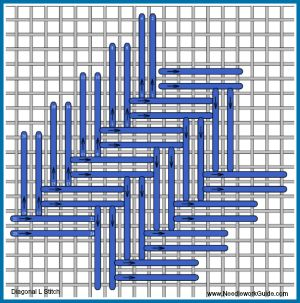 Diagonal L Stitch                                                                                                                                                                                 More