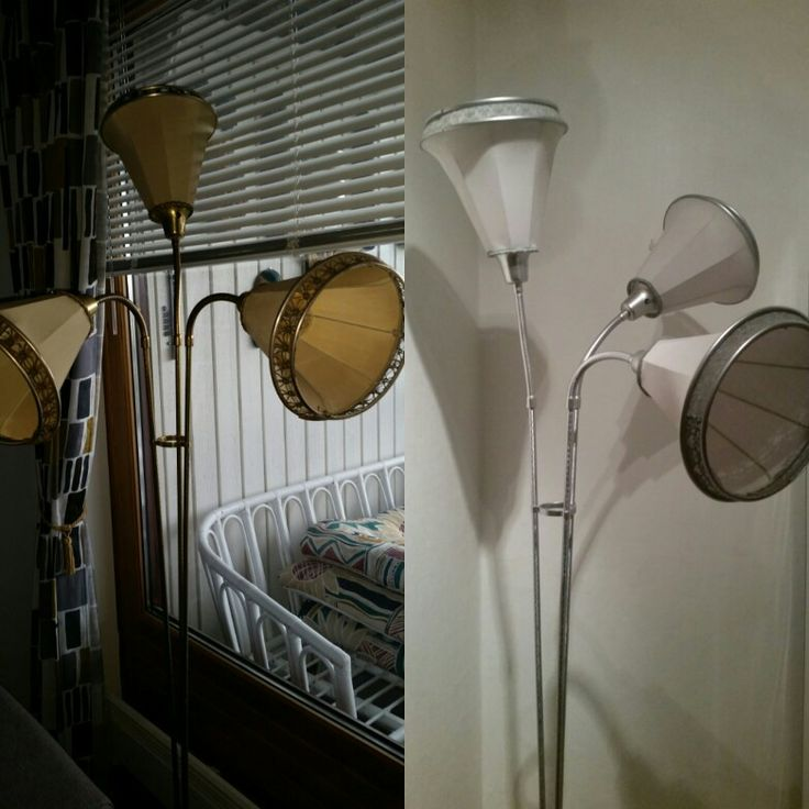 Pimping an old lamp from the 50's
