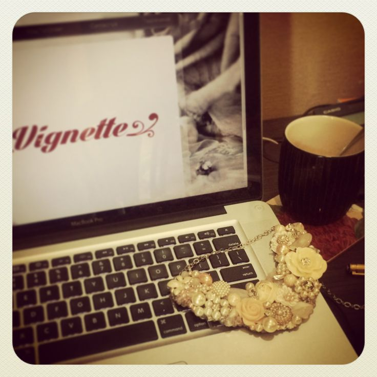 Work and Chill  www.vignettecollections.com