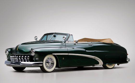 1950 Mercury Custom Convertible Coupe