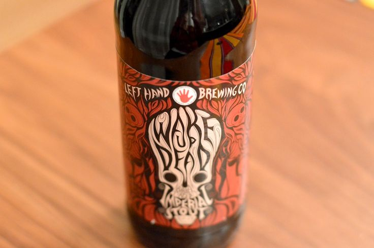 Left Hand Brewing Companys Wake Up Dead | 5280 #stout #beer