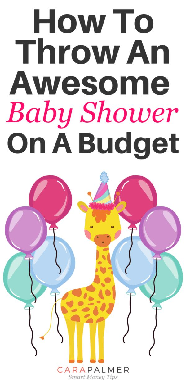 How To Throw The Perfect Baby Shower On A Budget