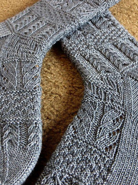 Ravelry: Geology Socks pattern by verybusymonkey