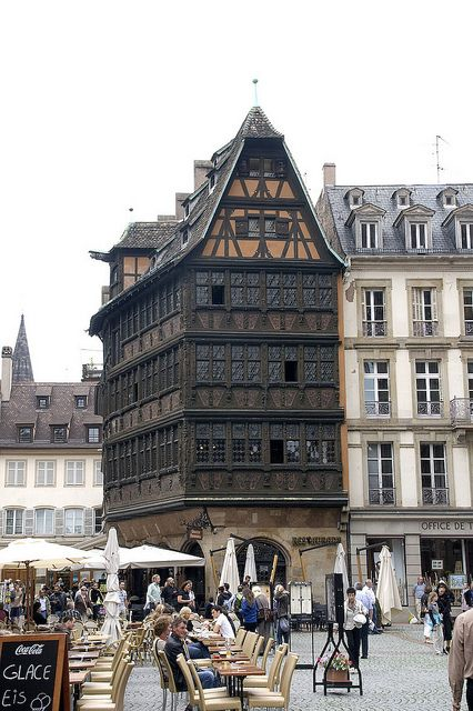 Strasbourg - Wonderful city - I lived so close across the border in Southern Germany - just a day out then.  Now . . . such a rich memory.