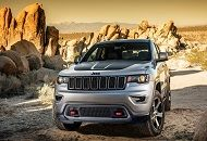 With 3.6 liter V6 engine, 360 HP and eight-speed automatic shift, the Jeep Grand Cherokee Trailhawk is a powerful vehicle that has no rival and it is expected to conquer the market in 2017.
