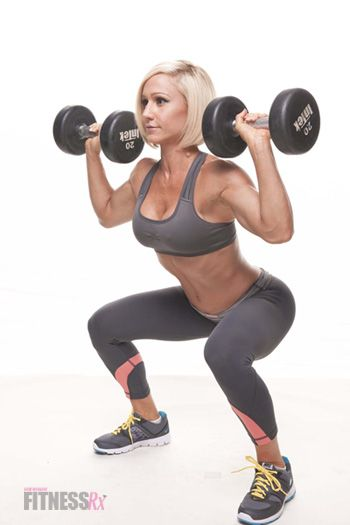 Toning Without the Bulk: Article on how weight lifting benefits women, plus a full-body wt lifting regimen to get started.