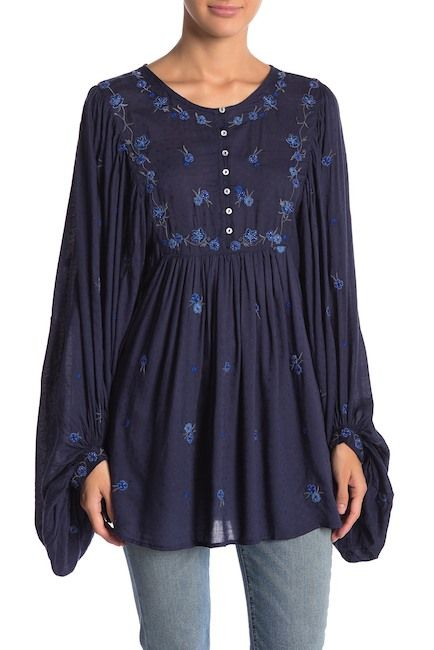 11d27569e03 Free People | Kiss from a Rose Tunic in 2019 | In Style | People ...